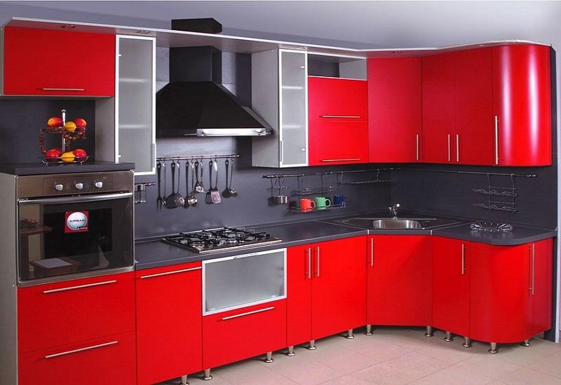 Кухни с фасадами МДФ крашеный матовый