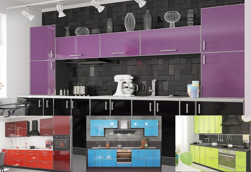 кухня Mirror Gloss