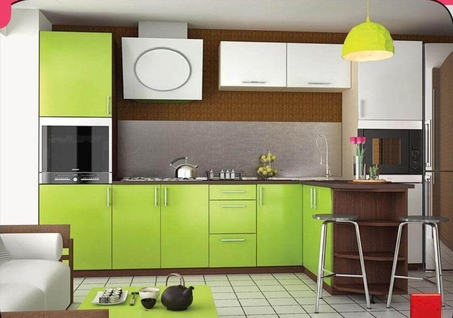 кухня Мода лайт олива